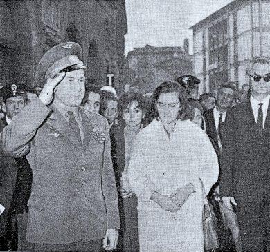 Leonov, astronauta russo a Terni: città in festa