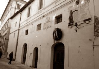 L'ex municipio di Collescipoli