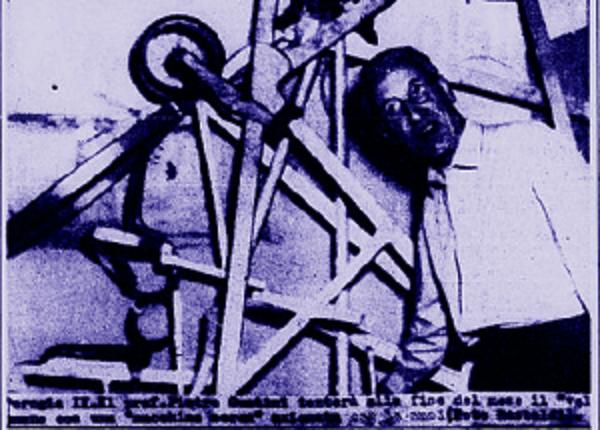L'ingegnere perugino inventore dell'aereo a pedali