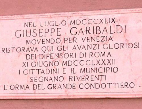 Garibaldi s'accampa a San Valentino