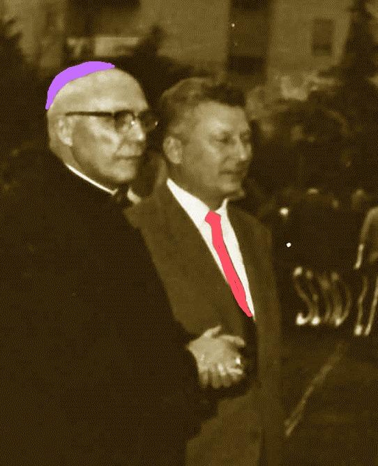 Il vescovo monsignor Dal Prà col sindaco di Terni Ottaviani (Foto or. di Enrico Valentini)