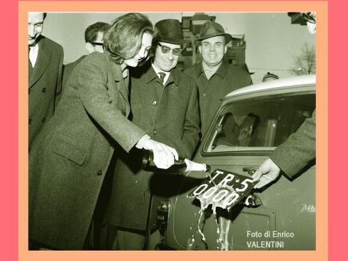 TR 50000, una targa d'auto nella storia cittadina