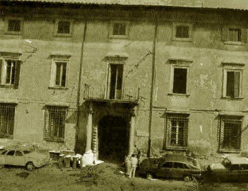 Pio VII benedice dal balcone dei Gazzoli