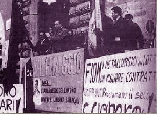 MANIFESTAZIONE FIOM A tERNI 1952
