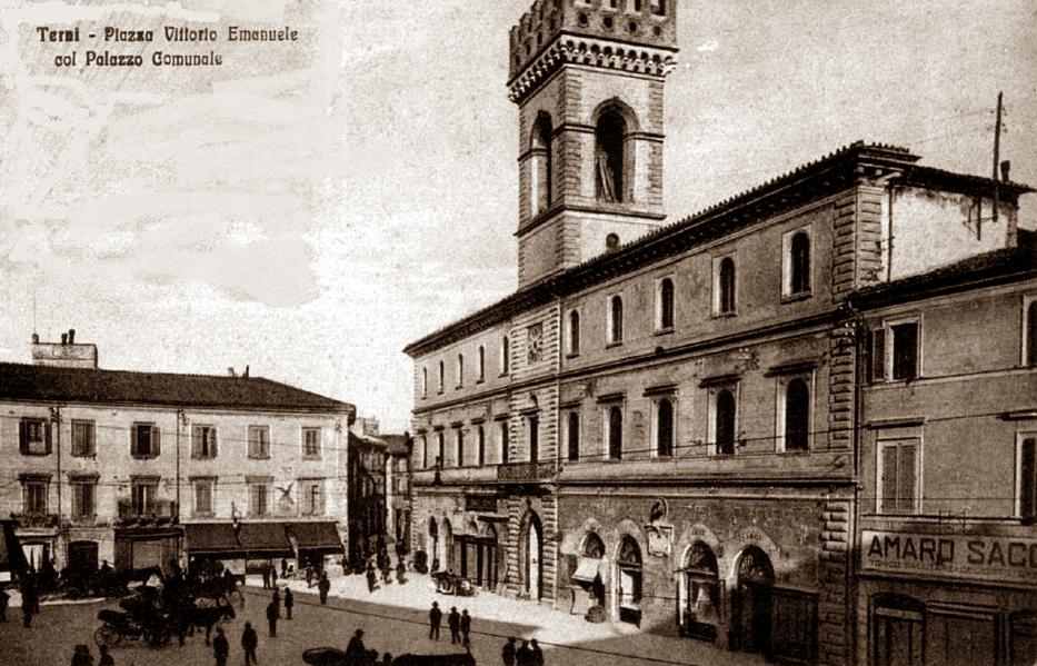 piazza vittorio emanuele terni