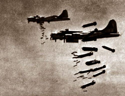Bombardieri all'improvviso su Terni: una strage