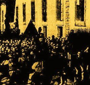 """1940, Mussolini visita """"la forgia della potenza bellica italiana"""""""
