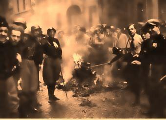 Fascisti mettono Orvieto a ferro e fuoco