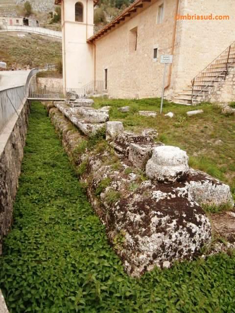 tempio di ercole villa san silvestro cascia