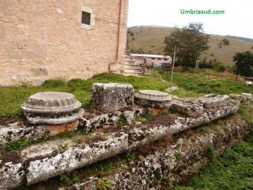 Sui monti di Cascia il tempio romano di Ercole