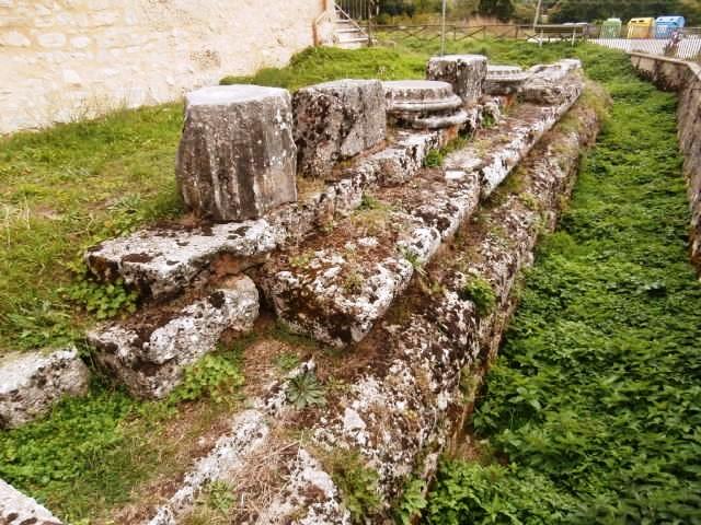 Tempio romano villa san silvestro