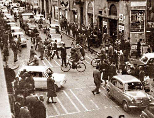1973, niente più auto al centro di Terni