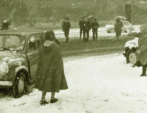 La nevicata del '56 in Umbria