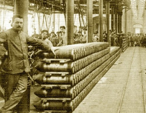 """La Krupp e la guerra dei proiettili da cannone con la """"Terni"""""""