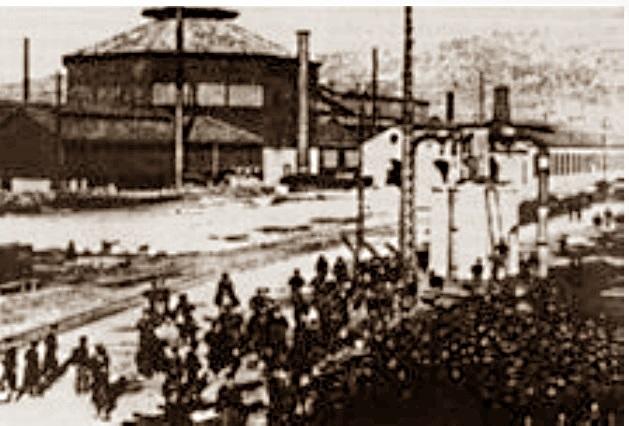1907 serrata acciaierie terni