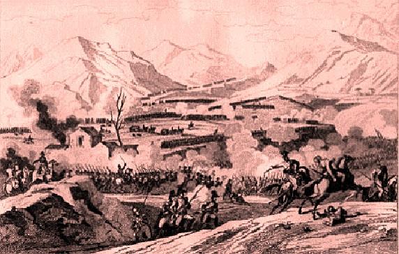 la campagna d'Italia dell'esercito di Napoleone