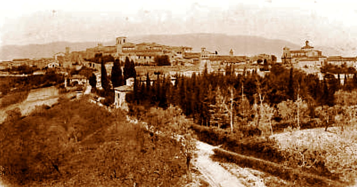 Montefalco, panorama