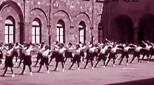 Mussolini Orvieto Accademia femminile Gil