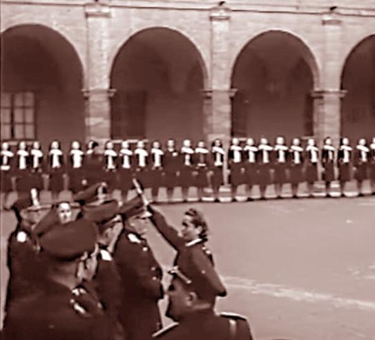 Mussolini Orvieto academia femminile Gil