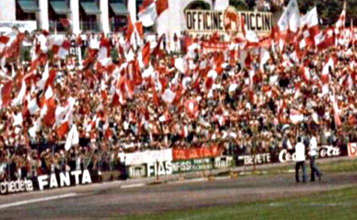 1975, il Perugia in serie A. Staffetta con la Ternana