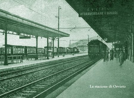 Orvieto, revolverata da un treno all'altro