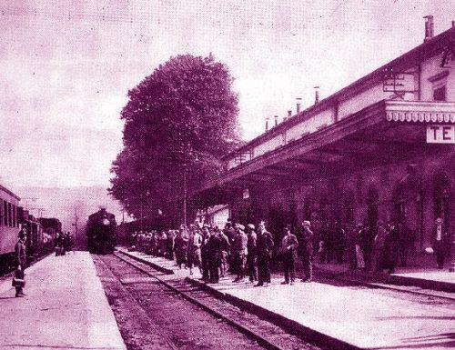 1887, da Terni parte il primo treno carico di acciaio