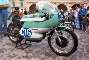 Cesenatico moto bianchi 1964