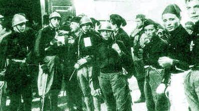 1921, raid di 400 fascisti perugini a Orvieto