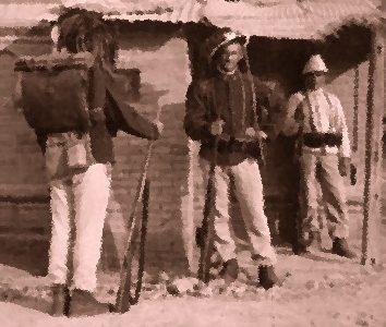 Soldati molestano la moglie dell'oste: sei revolverate
