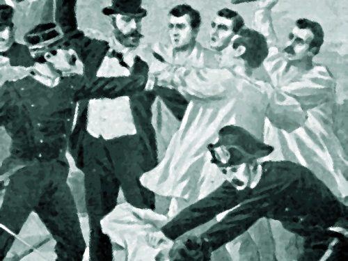 Baschi 1899, carabinieri aggrediti sparano: un morto