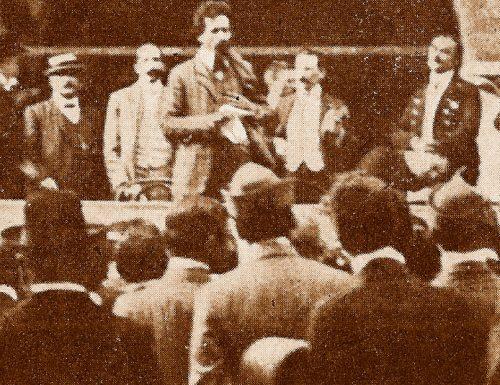 Foligno 1914, disordini dopo il comizio di Cesare Battisti