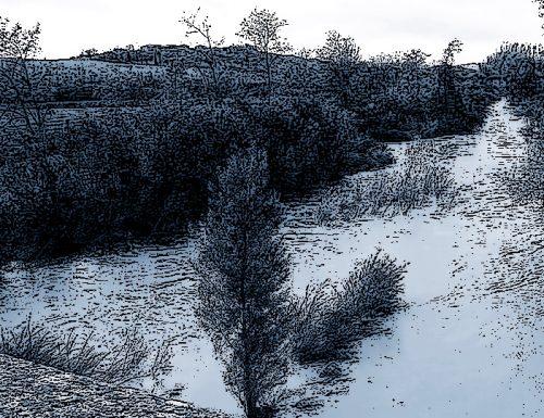 1878, nubifragio in Umbria:  pericoli per i fiumi in piena