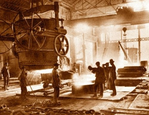 1913, incidente alla Terni e l'Avanti! spara a zero