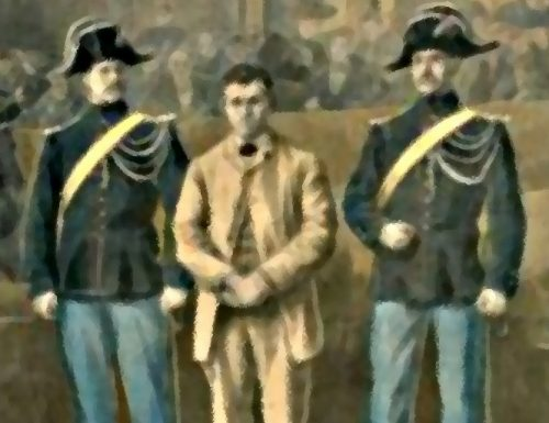 Perugia 1913: ladro arrestato, ma non si riesce a scoprire chi è