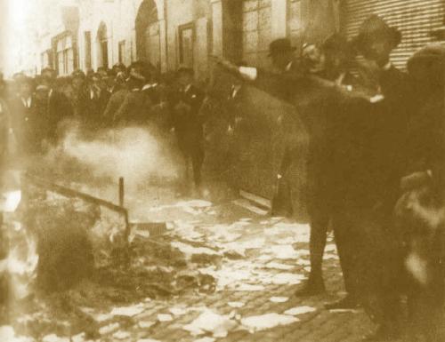 Perugia e Foligno 1921, raid dei fascisti fiorentini: incendi e devastazioni