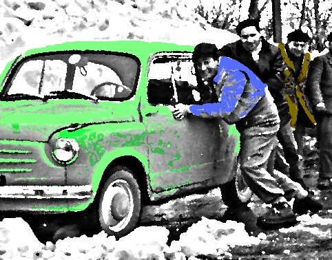 10 marzo 1958: Terni e l'Umbria ricoperte di neve