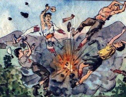 Terni 1953: giovane dilaniato dallo scoppio di un residuato bellico