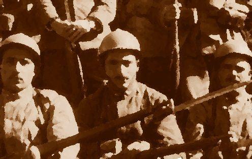 Foligno 1921, due bombe a mano contro i soldati: diciotto feriti