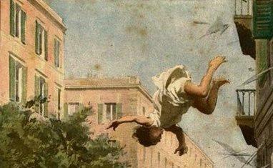 1892, domestica di Norcia si getta da 40 metri: solo lievi ferite