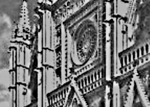 Orvieto 1949: danneggiato il rosone del Duomo, urgente il restauro