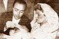 """1958, a Cascia il pieno di """"vip"""" per le nozze tra Carla Boni e Gino Latilla"""
