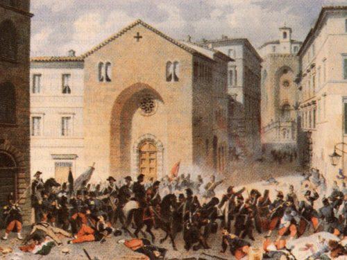 1909, articolo contro i martiri del XX Giugno a Perugia: canonico condannato