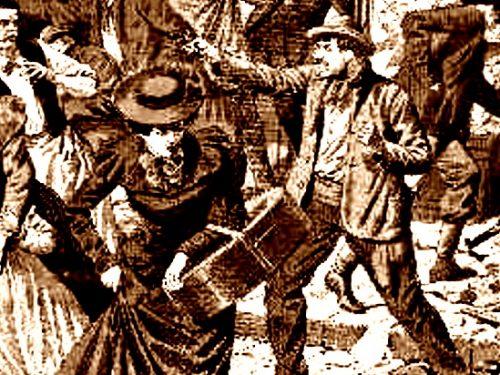 1915, colto da un raptus in treno spara contro gli altri viaggiatori: 4 feriti