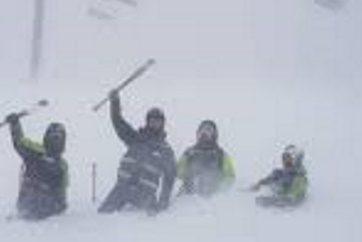 1947, otto giovani di Spoleto bloccati per giorni dalla neve sui Sibillini