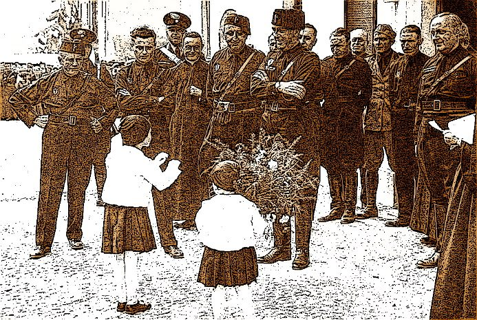 1935, a Foligno una giornata particolare: c'è la visita del federale di Perugia