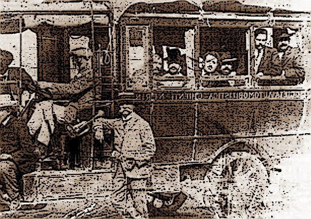 """1914, """"vettura automobile"""" investe una bambina alla voltata di Uppello"""