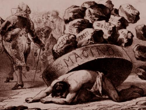 Perugia 1868, contadini esasperati per la tassa sul macinato bastonano il  segretario comunale