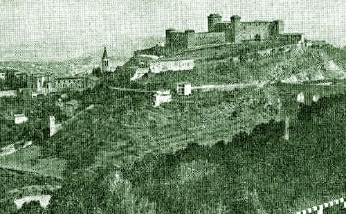 Spoleto 1910: onore ai caduti cinquant'anni prima nell'assalto alle truppe pontificie alla Rocca