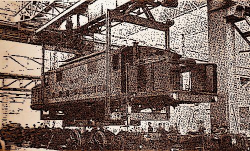 1910, incendio distrugge mezza stazione a Foligno