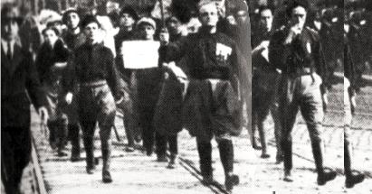 1922, i fascisti ordinano le dimissioni ai consiglieri di Baschi e Porano